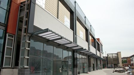 Exterior of the new Dolphin Square.