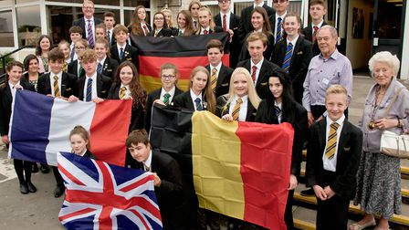 Clevedon School have been forging links across Europe with the help of Clevedon's Twinning Associati