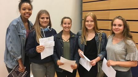 Backwell School is celebrating excellent GSCE results.