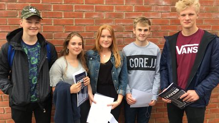 Backwell School is celebrating 'excellent' GCSE results.