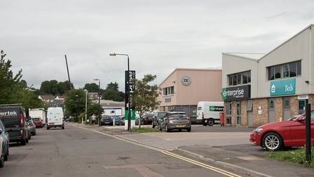 Old Mill Road in Portishead is home to almost 200 workers.