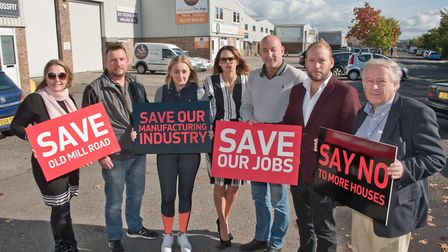 A public march in support of Old Mill Road businesses will be held on Saturday.