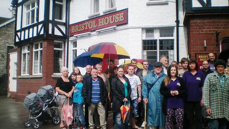 Hundreds have campaigned to save the Bristol House in the past.
