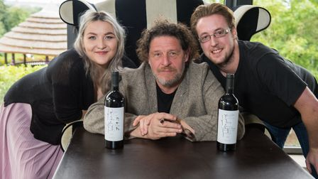 Marco Pierre White met with fans at Cadbury House. Picture: Neil Phillips Photography
