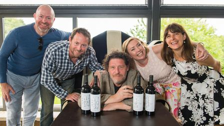 Marco Pierre White met fans at Cadbury House for the launch of his new wine collection. Picture: Nei