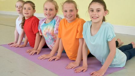 Young people's yoga classes being run at Weston Dance Centre, Baker Street.