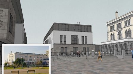 The Royal Hotel is hoping to expand. Picture: View Architects