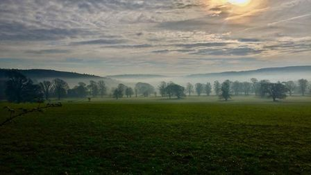 The view from Tyntesfield. Picture: Steve Lewis