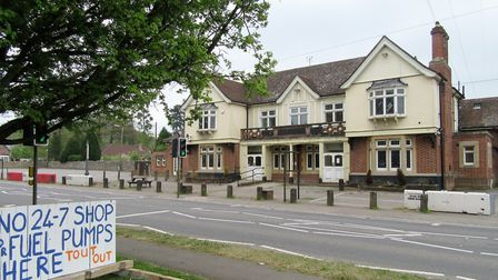 Cleeve residents have responded to Tout's plans for the old Lord Nelson pub with hand made protest b