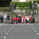 The Wraxall crossing opening took place last week. Picture: Submitted