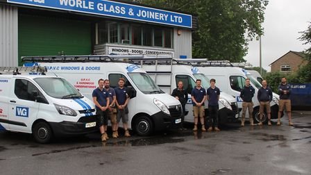 The Worle Glass team.