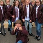 The 'jeans for genes' day at St Katherine's Primary School.