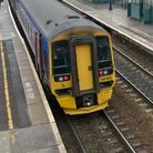 A person has been hit by a train between Taunton and Bristol.