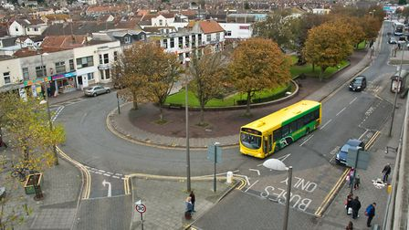 A bus interchange is planned for Alexandra Parade in Weston.