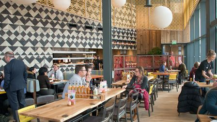 Dolphin Square Nando's is open to customers.