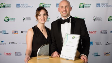 The Key Solutions team at the awards.
