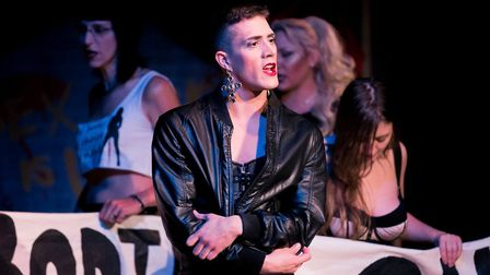 Performers in Sex Workers' Opera. Picture: Paul Blakemore / Theatre Orchard