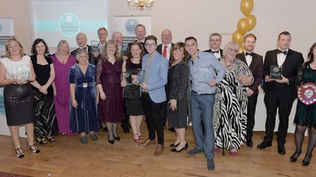 Some of the past Weston Business Awards winners.
