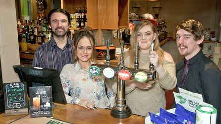 New team at the Ship and Castle, Congresbury.