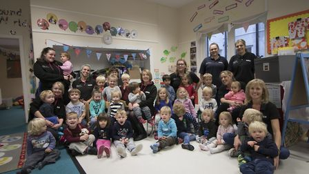 Barley Wood Nursery has been given a good rating by Ofsted.