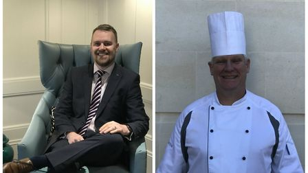 Kevin Green and Nigel Jones have been appointed Audley Redwood's general manager and head chef respe