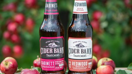 Two new vintage ciders in the Thatchers Cider Barn range.