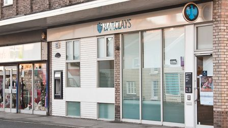 Barclays Bank, in Worle High Street, is closing next year.
