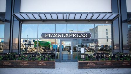 Pizza Express at Dolphin Square.
