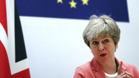Theresa May could be forced to extend Article 50. (Photograph: AP Photo/Francisco Seco)