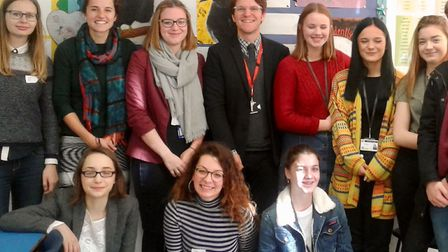 Pupils were visited by teachers from Romania, Greece and Russia.