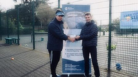 North Somerset Tennis Academy has announced a sponsorship deal with Brunel Engraving Company.