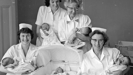 Five babies were born to Weston mothers at Ashcombe House Maternity Hospital over the three-day Chri