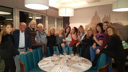 Former salon owner Jean Mays took the staff out to Aqua in Portishead after hearing the news about i
