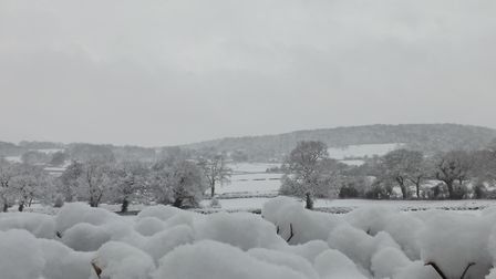 Will we be waking up to snow tomorrow morning? Picture: Jack Wright