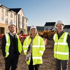 Merlin's development manager James Mcloughlin and director of investment Martyn Blackman at the new