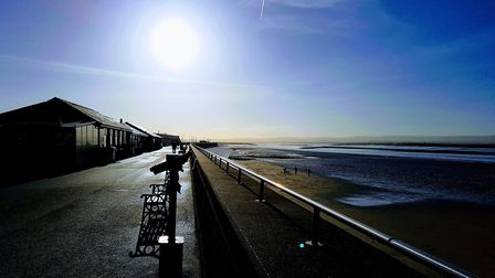 A morning ride to the esplanade from Weston super Mare seafront. The new cycle path is a great way t