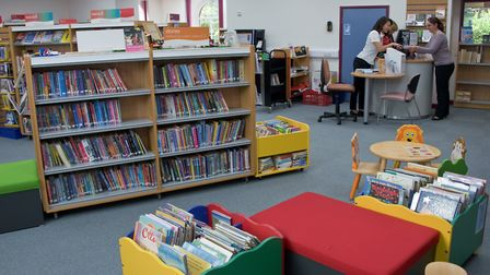 Yatton Library's newly redecorated and refurbished building reopened last summer.