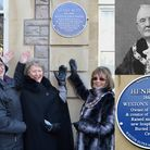A blue plaque for the first mayor of Weston, Henry Butt, was unveiled on January 19. Picture: Eleano