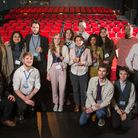 The Weston College students and staff behind the Dirigo Film Festival.