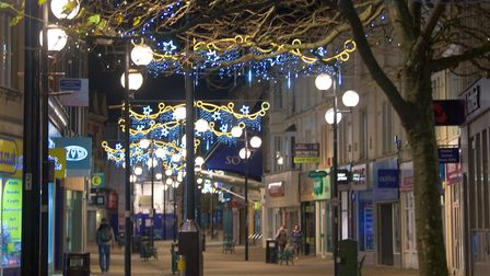 30,000 fewer people visited Weston town centre over Christmas than in 2016.