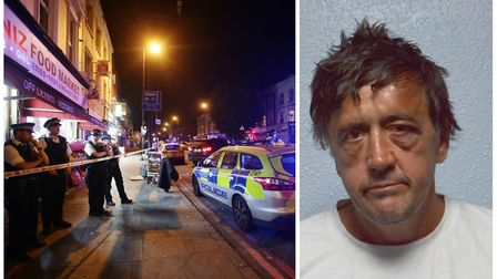 Darren Osborne (right) was jailed fo4 43 years. Pictures: Yui Mok/PA Wire/Met Police