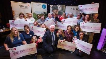 Community groups won nearly £73,000 at The Funding Den. Pictures: Richard Crease.