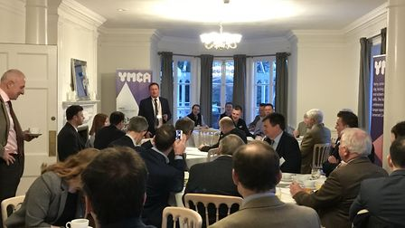 The business breakfast was held at Barley Woods.
