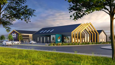 An artist's impression of the FoodWorks SW centre.