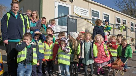 Congresbury Community Preschool needs to raise more than £10k for a new roof.