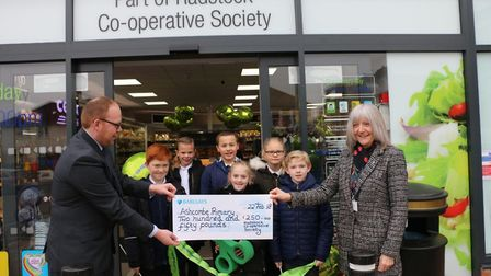 The opening of the Milton Road Co-op.