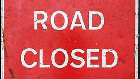 The A370 will be closed at night.