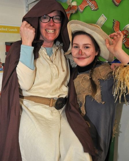 Miss Dennery and Mrs Galey at St Francis School, Picture: Jeremy Long.