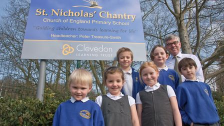 St Nicholas Chantry Primary School, has become part of Clevedon Learning Trust.