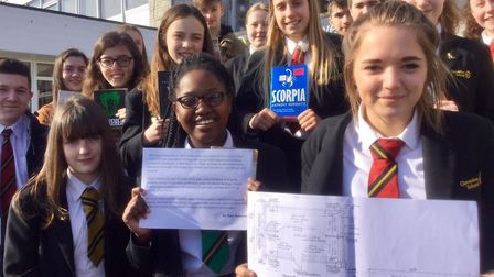 Clevedon School students are campaigning for a new library.